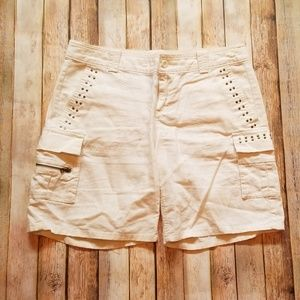 Cargo Shorts - Light Beige